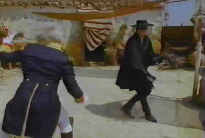 De Soto accuses Zorro of killing the Carbejal brothers.