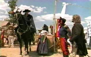 Zorro confronts Ramone about his latest act of injustice.