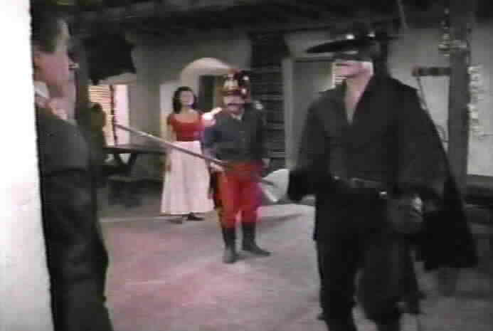 Zorro reveals Segovia's plot.