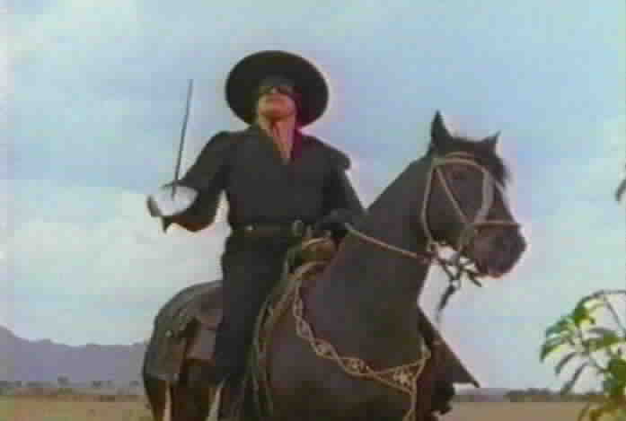 Don Alejandro heads to the pueblo as Zorro to fight banditos.