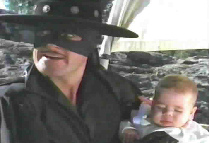 Zorro finds himself in custody of a baby.