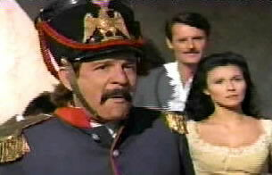 Sgt. Mendoza is dumbfounded at the alcalde's unexpected return to the pueblo.