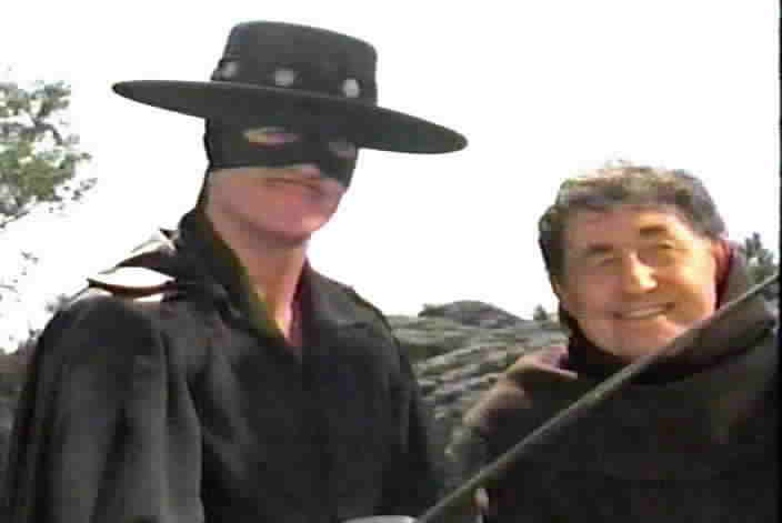 Zorro saves the real Padre Benites.
