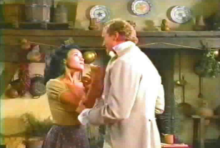 Thackery grabs Victoria.
