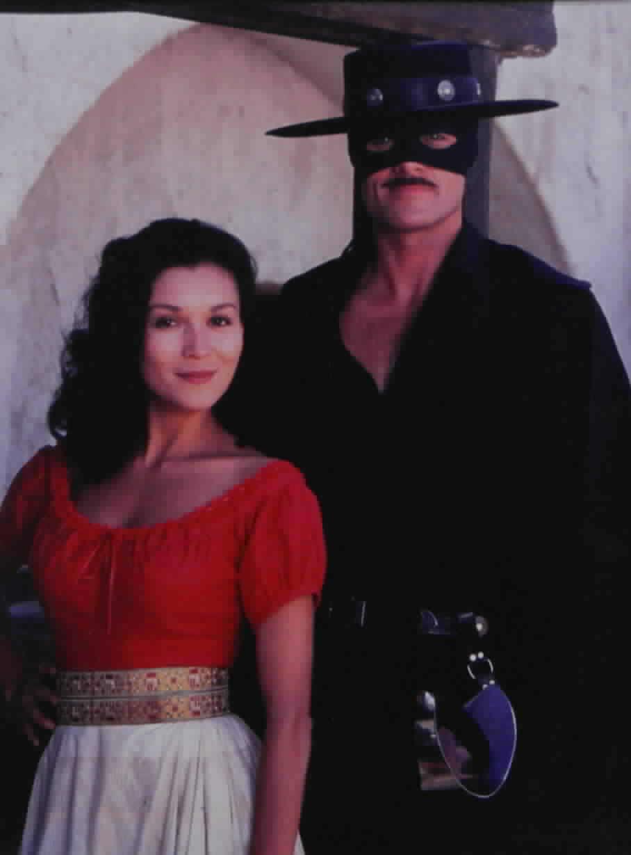 Zorro and Victoria