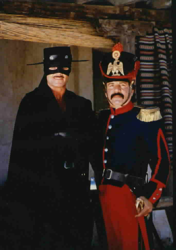 Zorro and Sgt. Mendoza