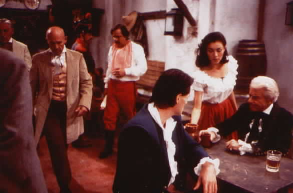 Another view of Don Alejandro, Victoria, and Diego in the tavern