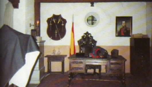 View of the set for the alcalde's office