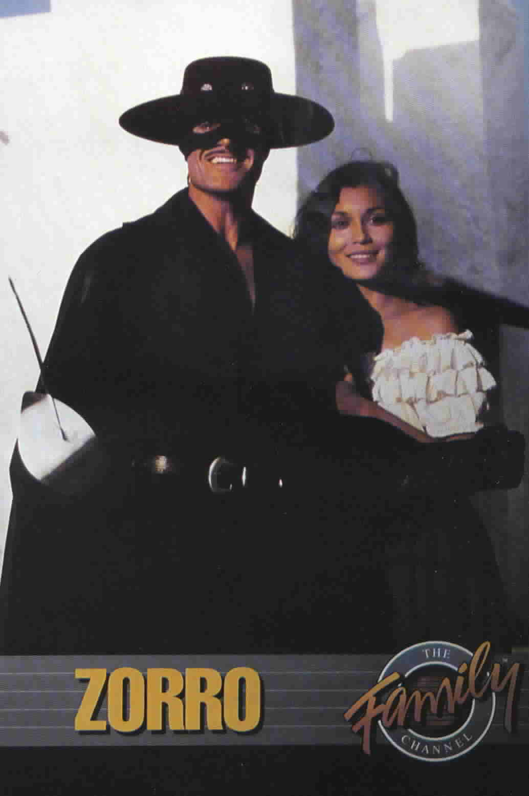 Family Channel Ad with Zorro and Victoria