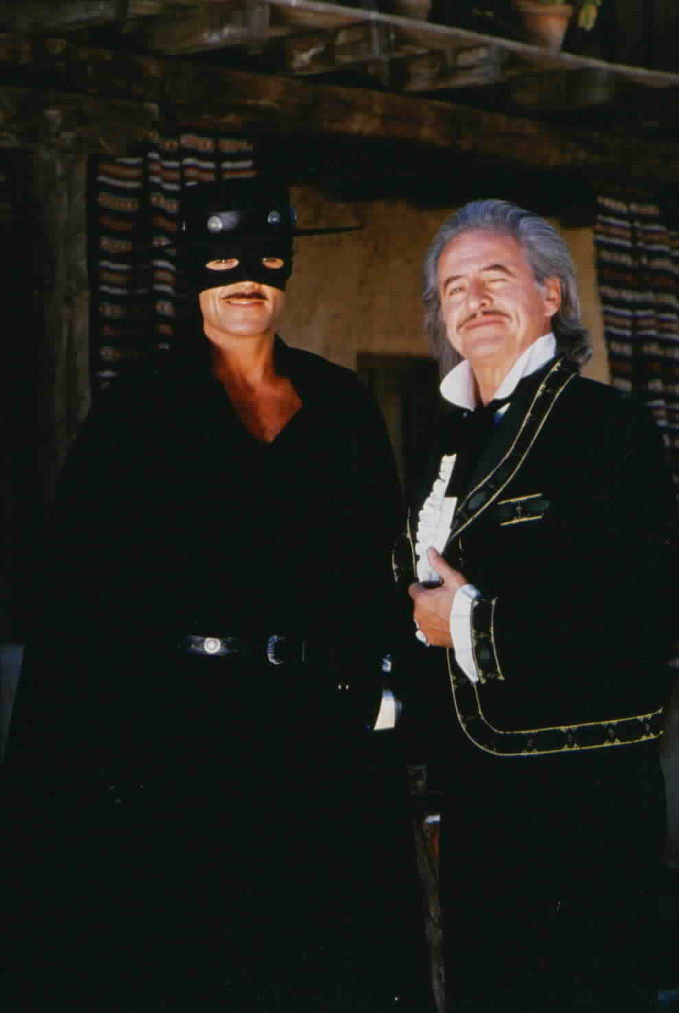 Zorro and Don Alejandro