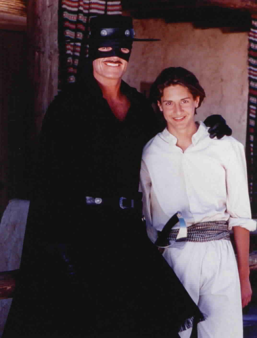 Zorro and Felipe