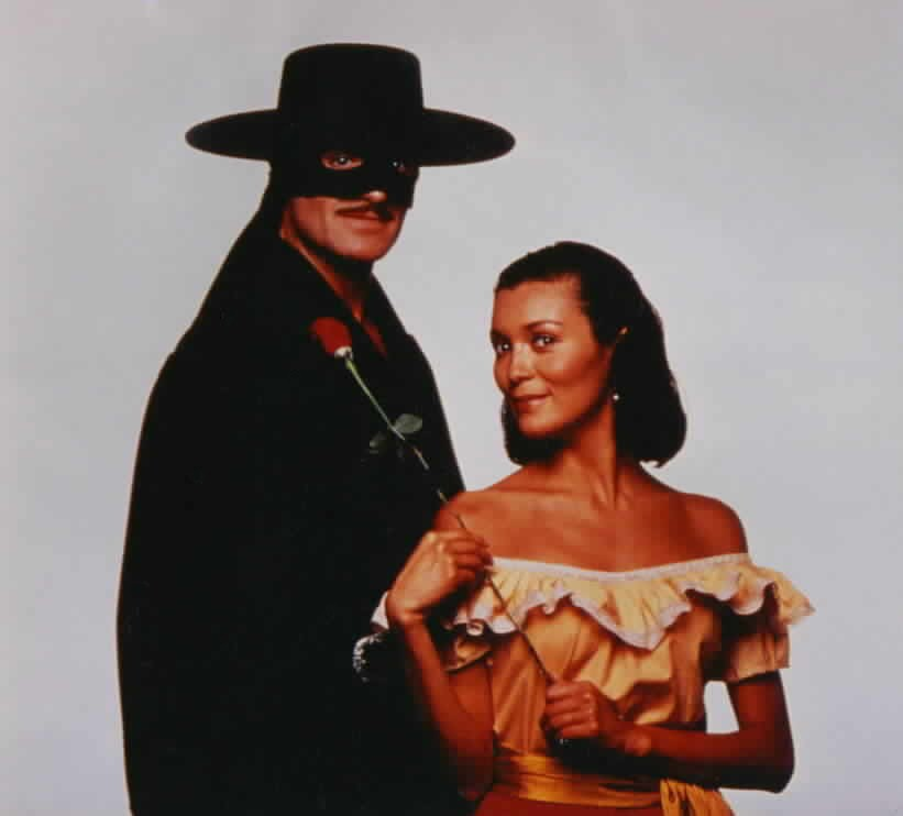 Another promotional photo of Zorro and Victoria