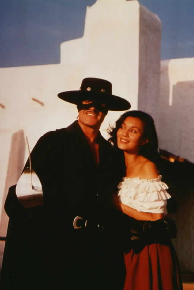 Promotional photo of Zorro and Victoria