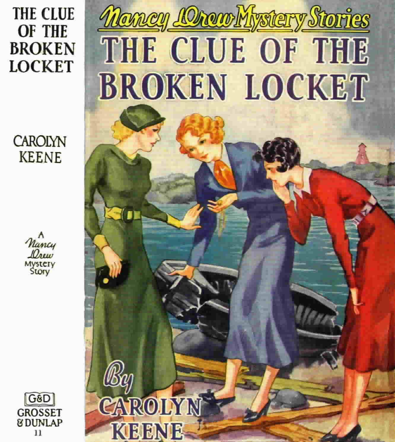 The Clue of the Broken Locket